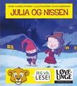 Omslagsbilde av Julia og nissen