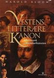 Omslagsbilde av Vestens litterære kanon
