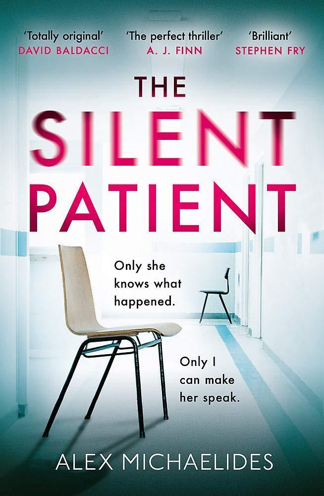 """""""The silent patient"""" av Alex Michaelides"""