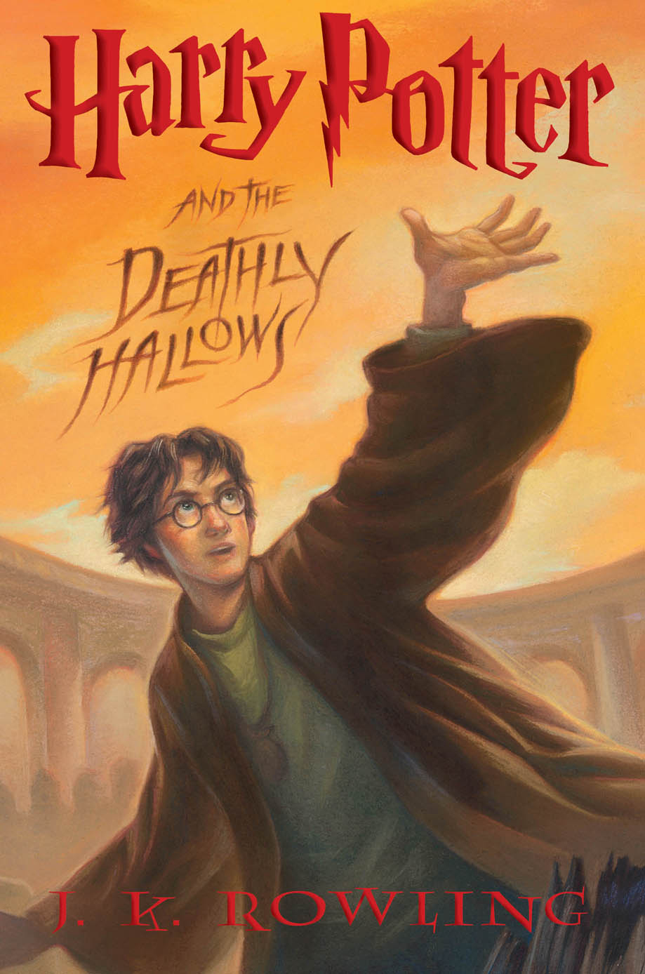 """""""Harry Potter and the Deathly Hallows (Book 7)"""" av J.K. Rowling"""
