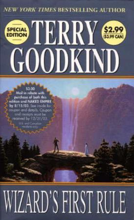 """Wizard's first rule"" av Terry Goodkind"