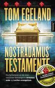 """""""Nostradamus' testamente - spenningsroman"""" av Tom Egeland"""