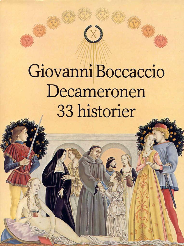 """""""Decameronen"""" av Giovanni Boccaccio"""