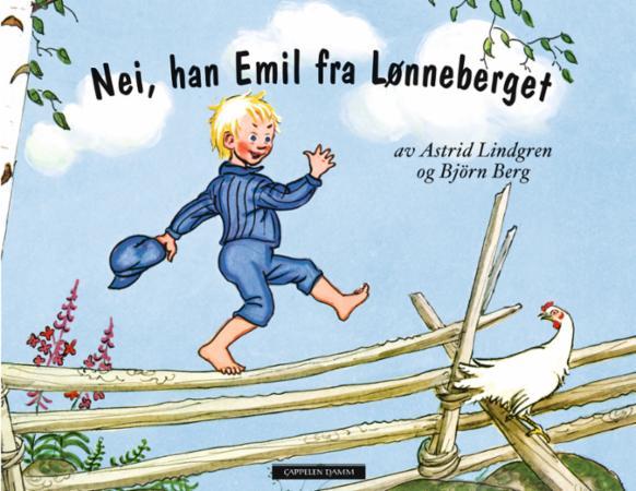 """""""Nei, han Emil fra Lønneberget"""" av Astrid Lindgren"""