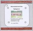 """""""Brickvävda band från Spångmurs en vävbok om en urgammal vävkonst som är lika användbar än i dag"""" av Louise Ström"""
