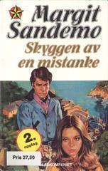 """""""Skyggen av en mistanke"""" av Margit Sandemo"""