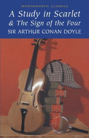 """""""A Study in Scarlet (Wordsworth Classics)"""" av Sir Arthur Conan Doyle"""