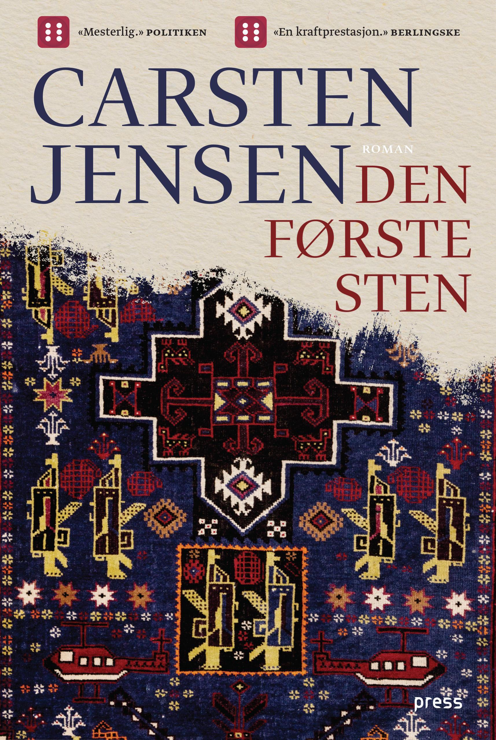 """""""Den første sten"""" av Carsten Jensen"""
