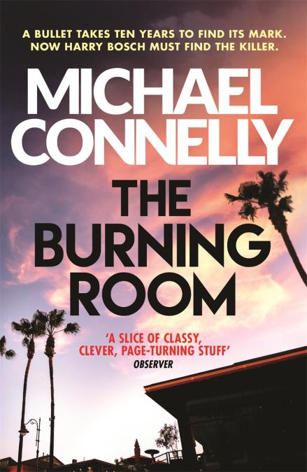 """""""The burning room"""" av Michael Connelly"""