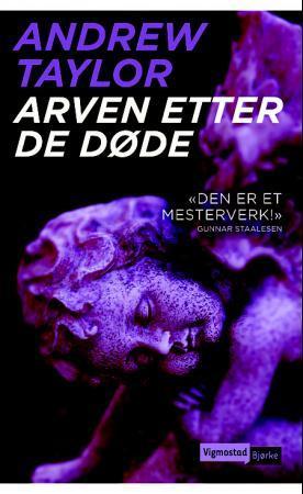 """""""Arven etter de døde"""" av Andrew Taylor"""