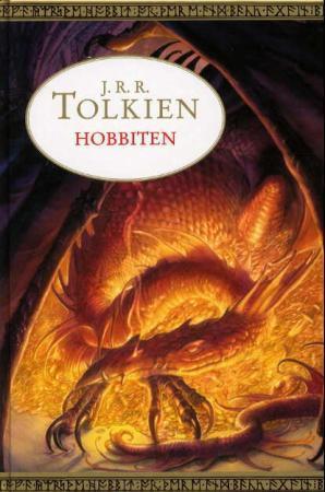 """""""Hobbiten, eller Fram og tilbake igjen"""" av John Ronald Reuel Tolkien"""