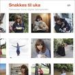 """""""Snakkes til uka - feltnotater fra en digital datingverden"""" av Ellen Sofie Lauritzen"""