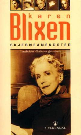 """""""Skjebneanekdoter"""" av Karen Blixen"""
