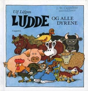 """""""Ludde og alle dyrene"""" av Ulf Löfgren"""