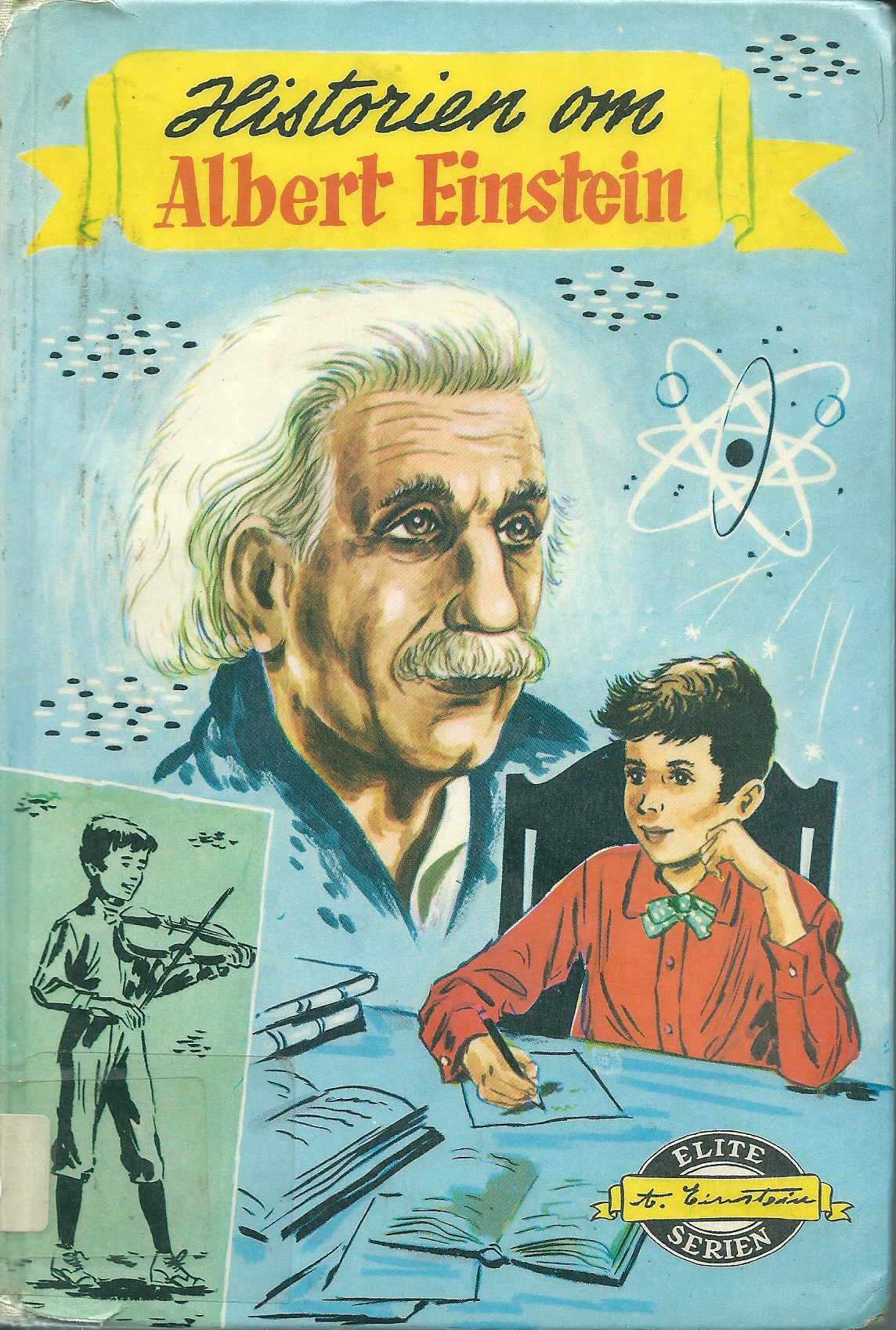 """Historien om Albert Einstein"" av Marie Hammontree"