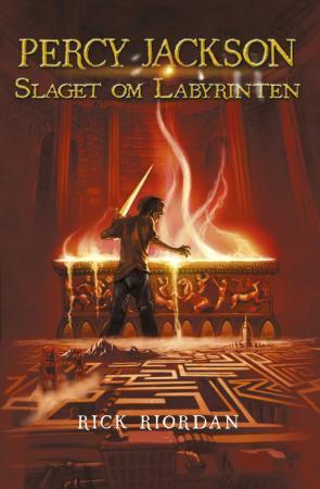 """""""Slaget om labyrinten"""" av Rick Riordan"""