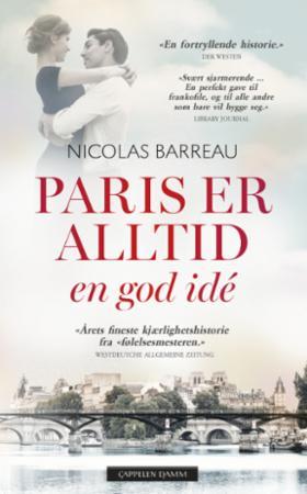 """""""Paris er alltid en god idé"""" av Nicolas Barreau"""