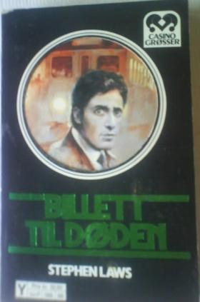 """""""Billett til døden"""" av Stephen Laws"""