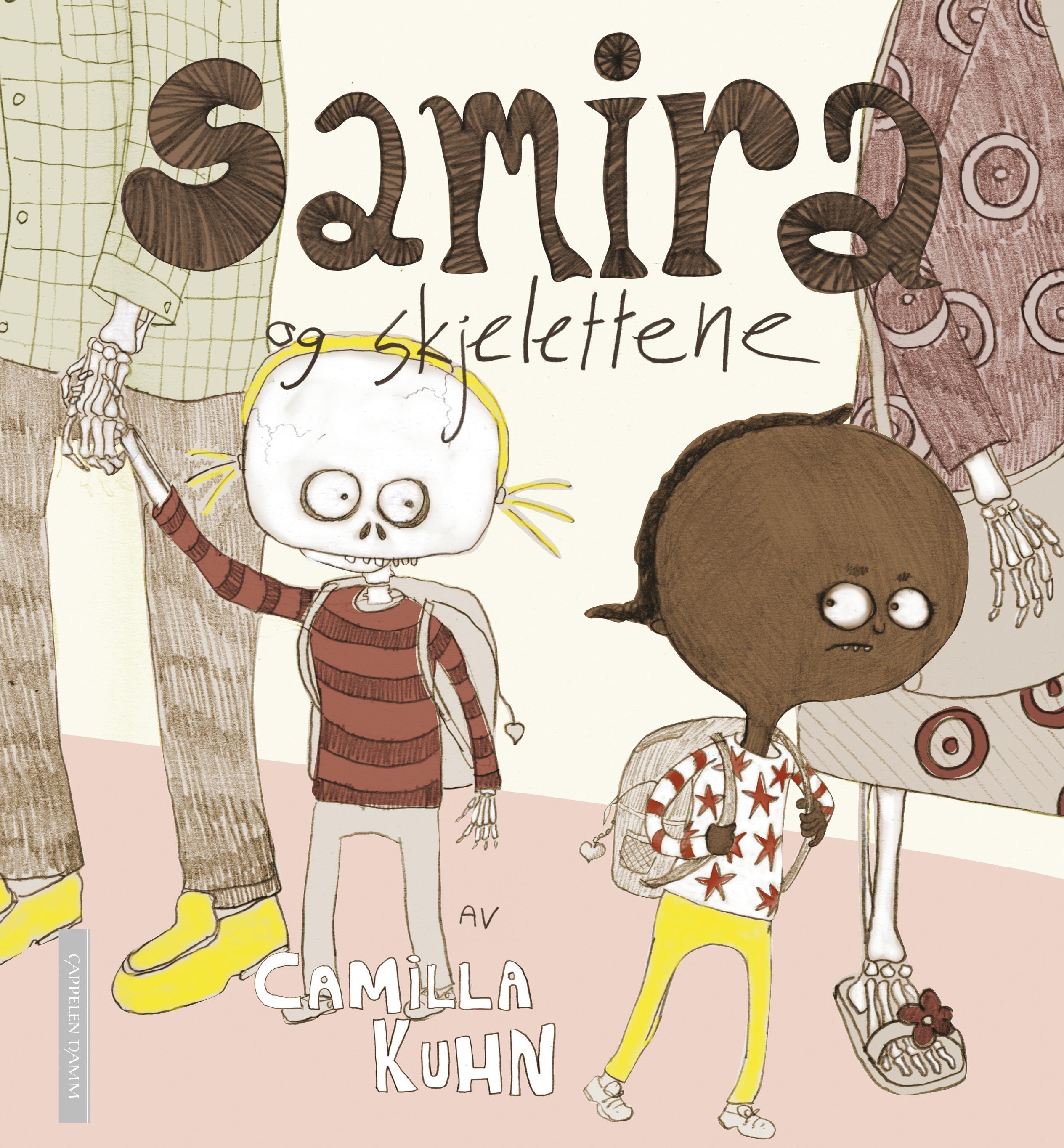 """""""Samira og skjelettene"""" av Camilla Kuhn"""