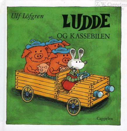 """""""Ludde og kassebilen"""" av Ulf Löfgren"""