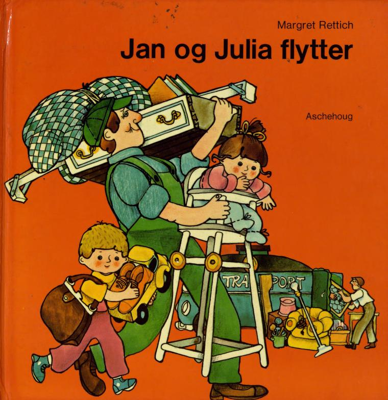 """""""Jan og Julia flytter"""" av Margret Rettich"""