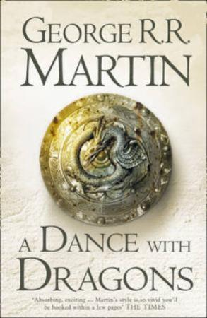 """A dance with dragons - a song of ice and fire book"" av George R.R. Martin"