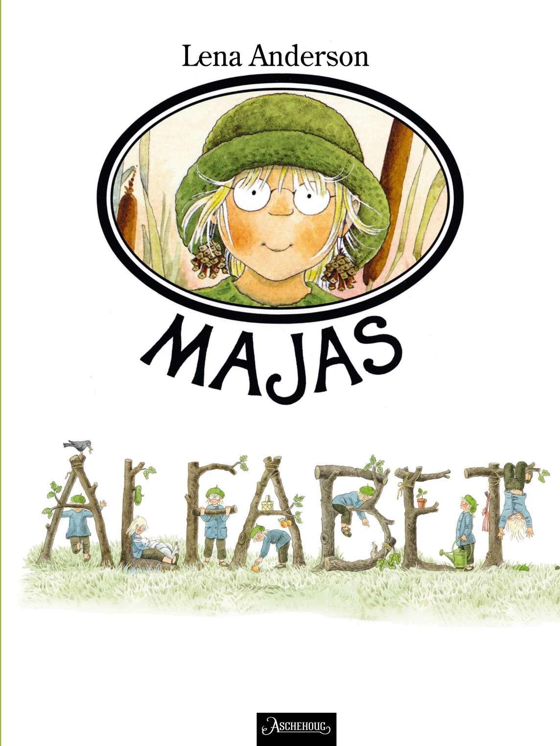 """""""Majas alfabet"""" av Lena Anderson"""