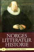 """""""Norges litteraturhistorie. Bd. 1 - fra runene til norske selskab"""" av Edvard Beyer"""