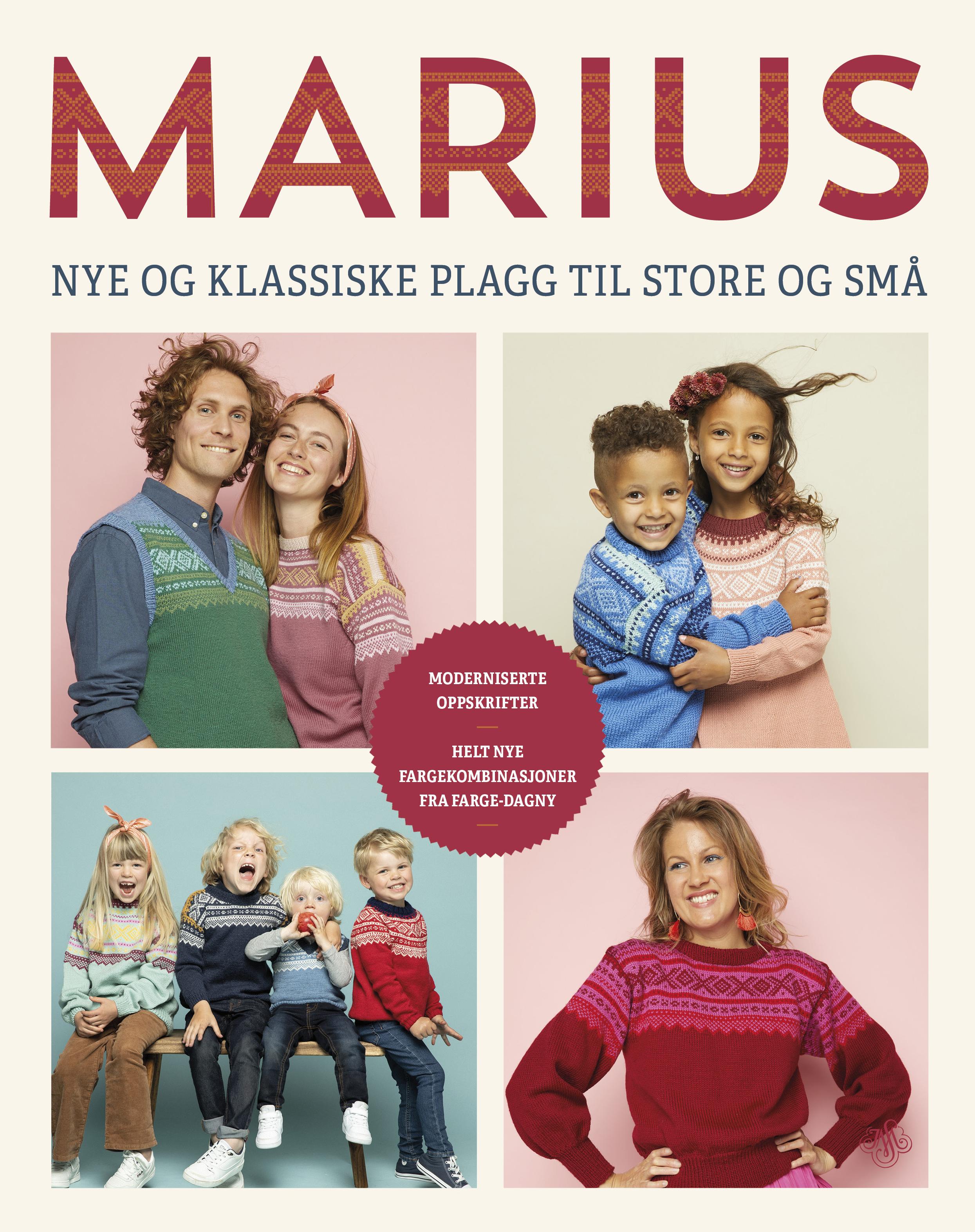 """""""Marius - nye og klassiske plagg til store og små"""" av Trine Hisdal"""