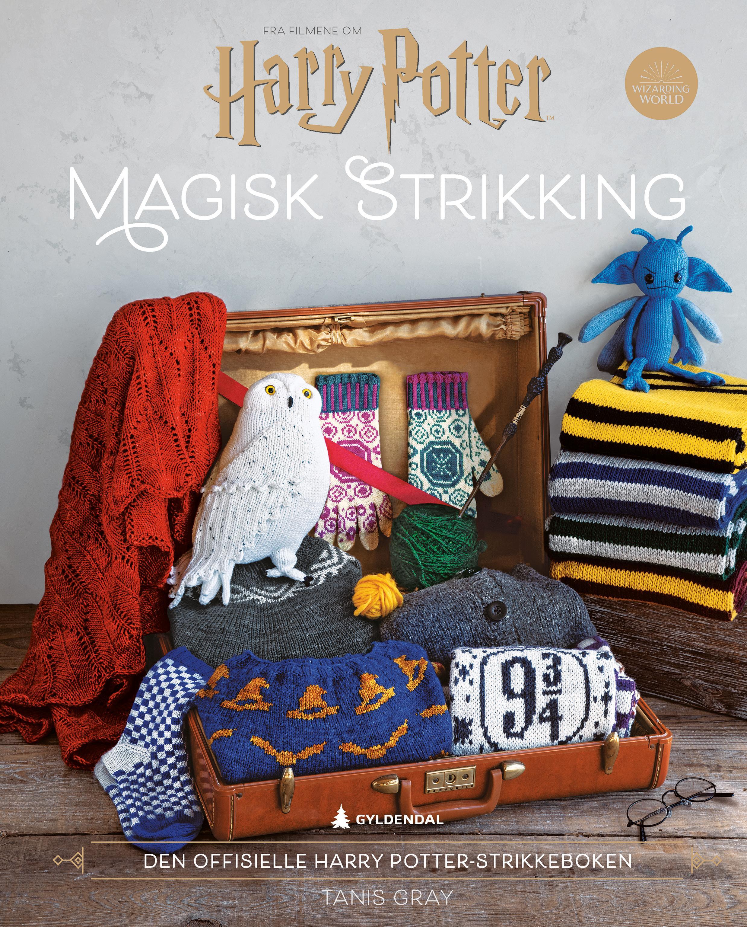 """""""Magisk strikking - den offisielle Harry Potter-strikkeboken"""" av Tanis Gray"""