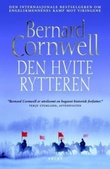 """""""Den hvite rytteren - roman"""" av Bernard Cornwell"""