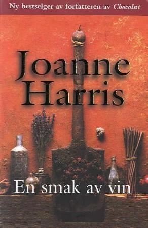 """""""En smak av vin"""" av Joanne Harris"""