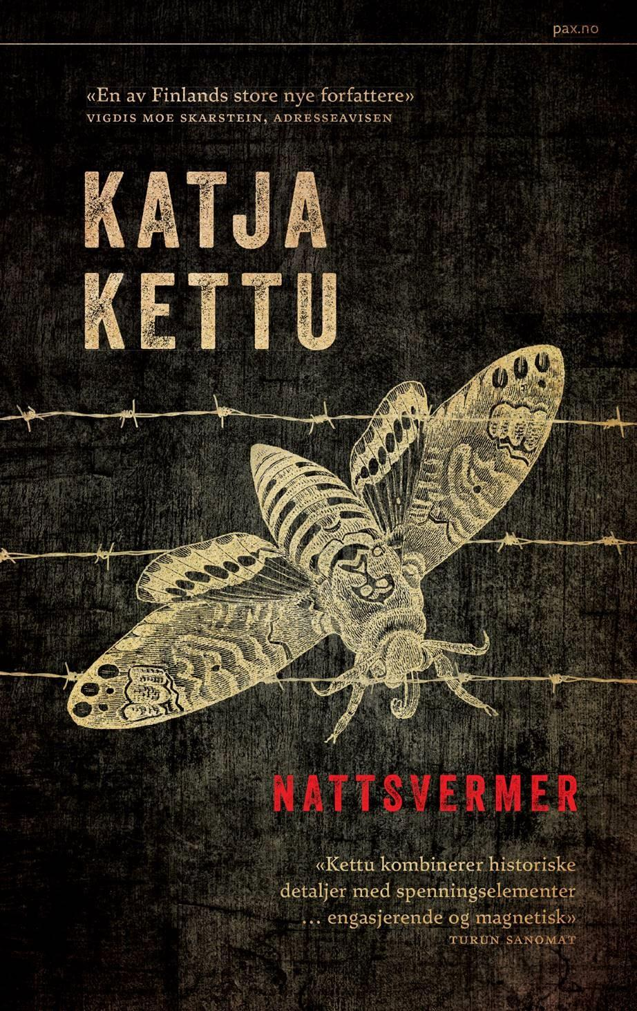 """Nattsvermer"" av Katja Kettu"