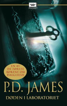 """""""Døden i laboratoriet"""" av P.D. James"""