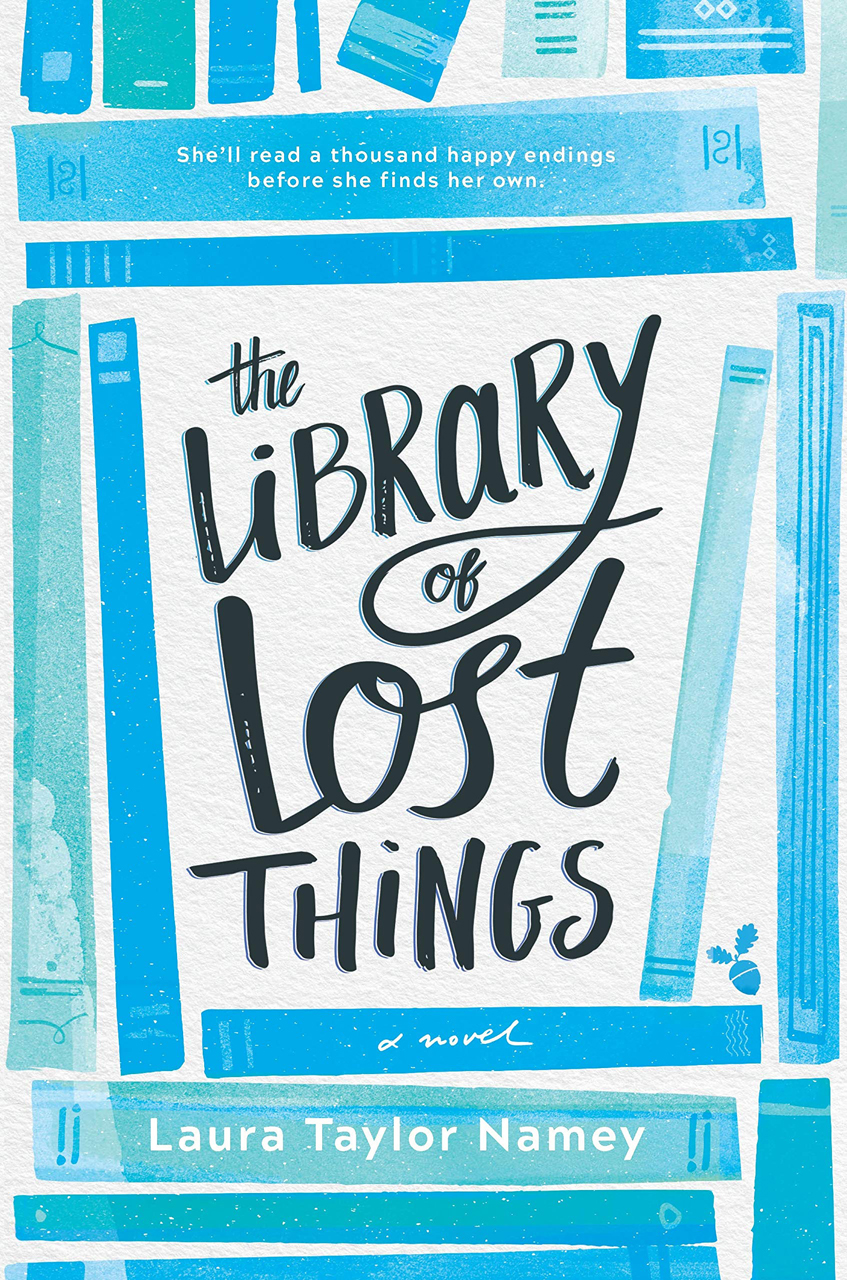 """The Library of Lost Things"" av Laura Taylor Namey"