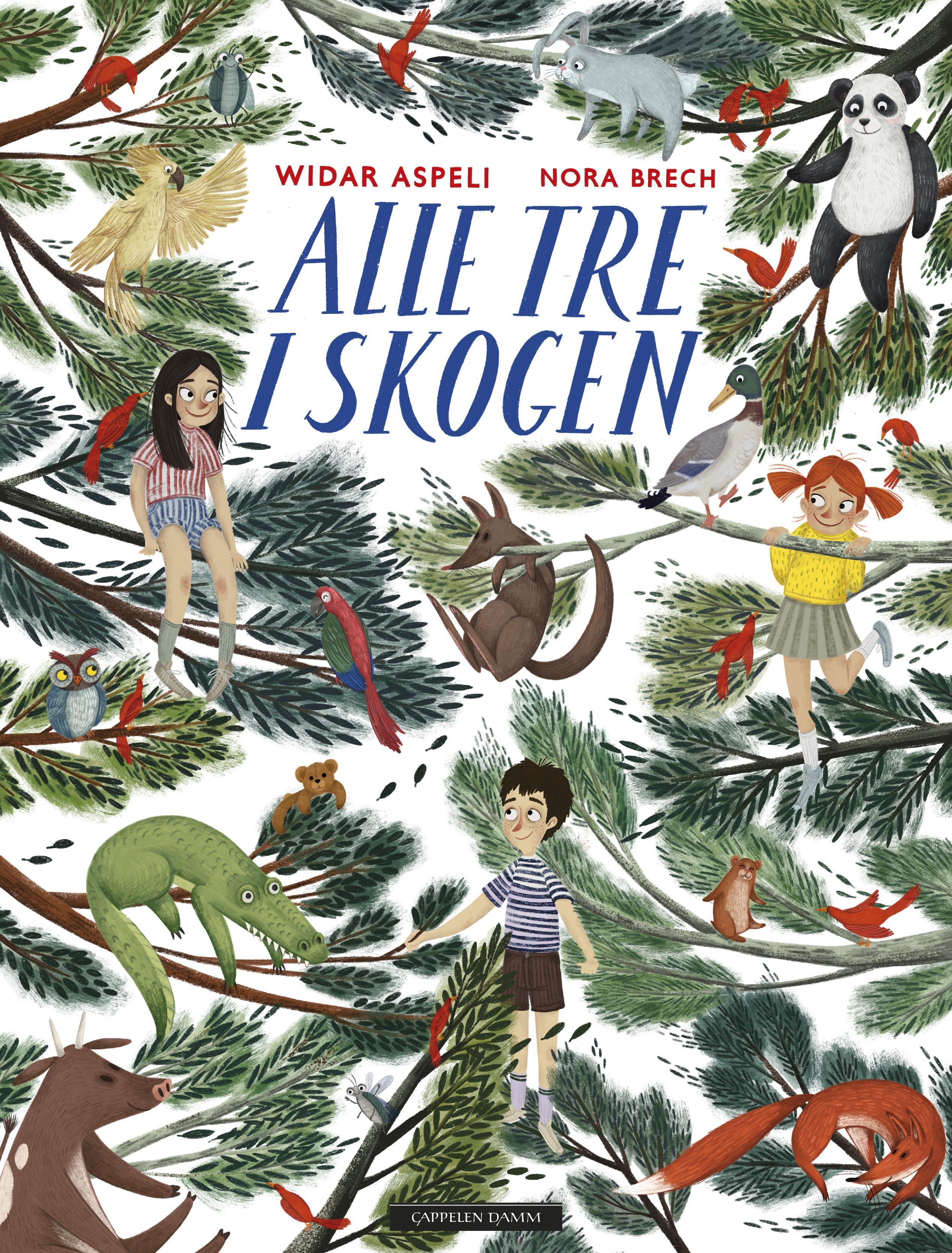 """""""Alle tre i skogen"""" av Widar Aspeli"""