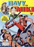 """""""Davy og Miki - Bok 7 - Kaptein Miki - Maskefjes - Masken faller - Davy Crockett - Mr X og det mystiske skrinet"""" av Giuseppe Casarotti"""