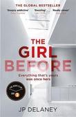 """""""The girl before"""" av JP Delaney"""