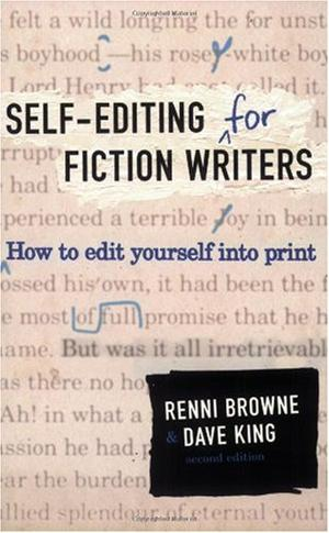 """""""Self-Editing for Fiction Writers, Second Edition - How to Edit Yourself Into Print"""" av Renni Browne"""