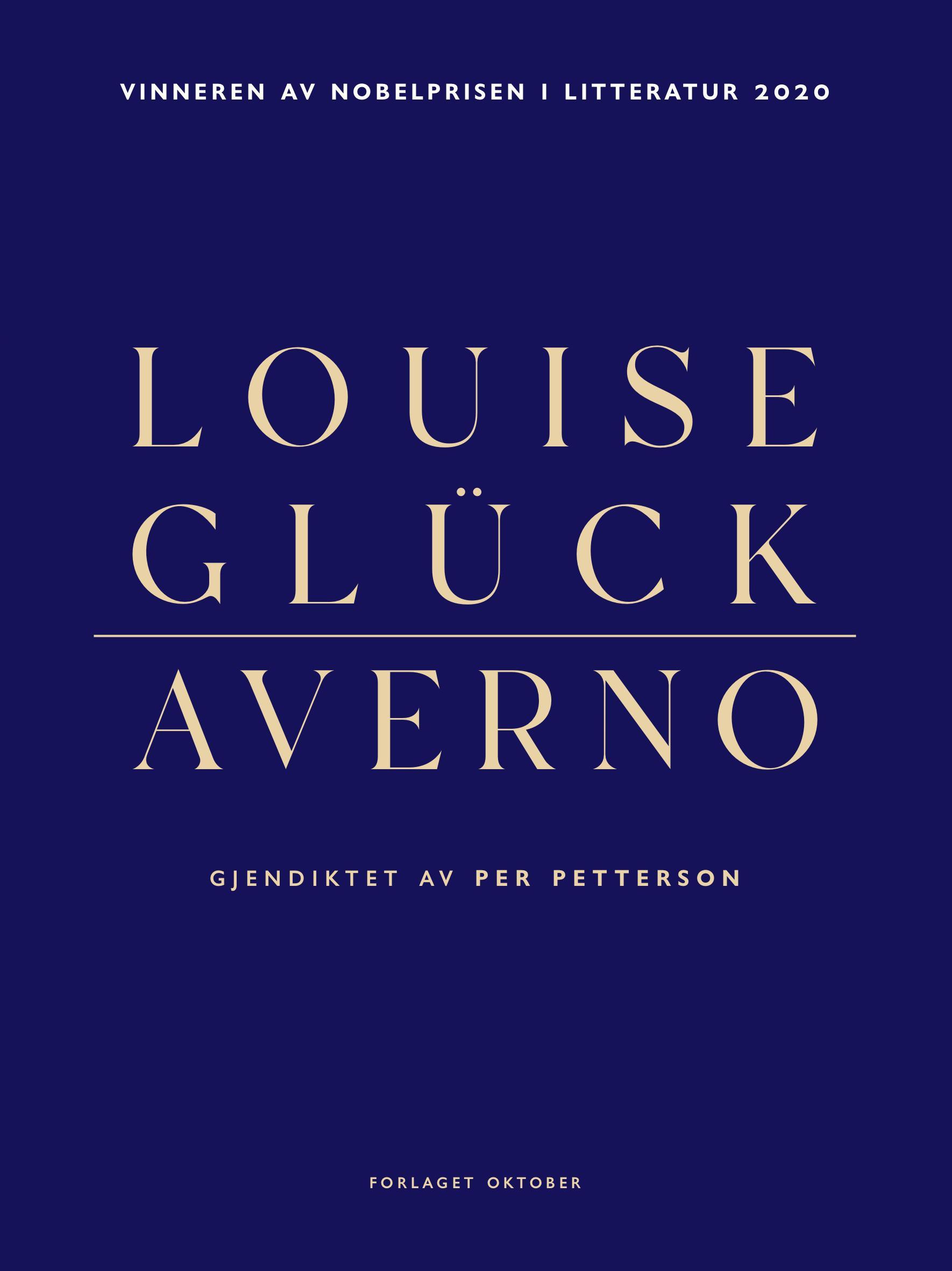 """""""Averno"""" av Louise Glück"""