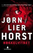 """""""Nøkkelvitnet kriminalroman"""" av Jørn Lier Horst"""