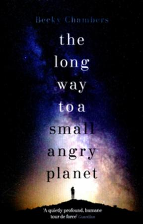 """""""The long way to a small, angry planet"""" av Becky Chambers"""