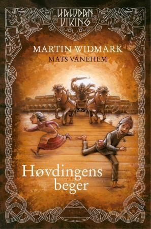"""""""Høvdingens beger"""" av Martin Widmark"""