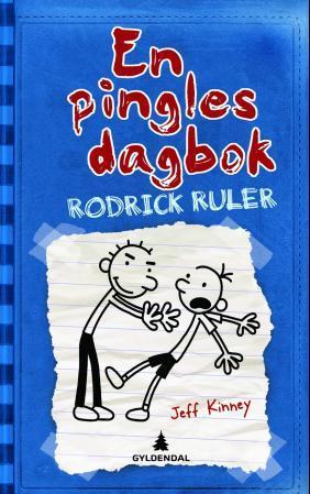 """""""Rodrick ruler"""" av Jeff Kinney"""