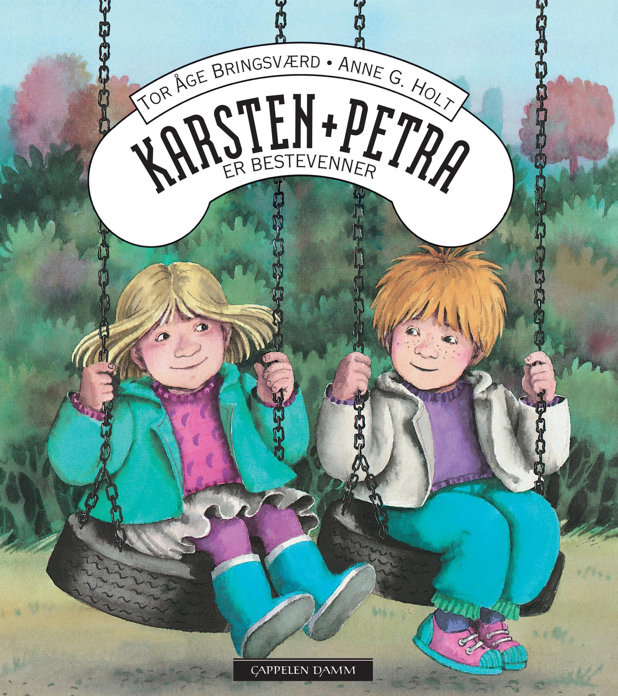 """""""Karsten og Petra er bestevenner"""" av Tor Åge Bringsværd"""