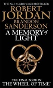 """""""Memory of light - wheel of time 14"""" av Robert Jordan"""