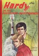 """""""Hardy-guttene og den forsvunne rakettforsker"""" av Franklin W. Dixon"""