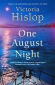 """One August night"" av Victoria Hislop"