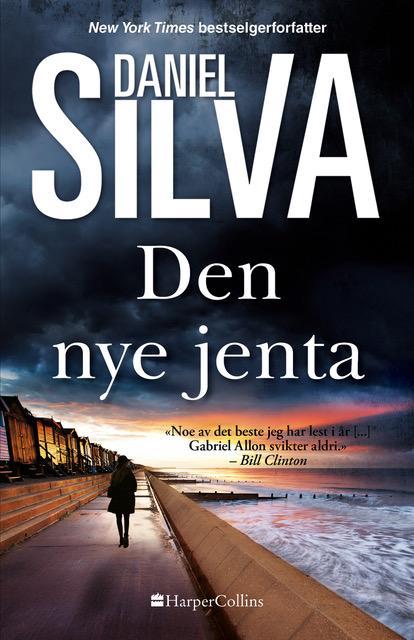 """""""Den nye jenta"""" av Daniel Silva"""