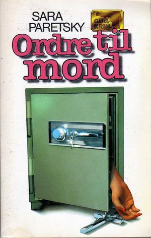 """""""Ordre til mord"""" av Sara Paretsky"""